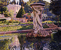 Garden with Villa and Fountain, 1924, rysselberghe