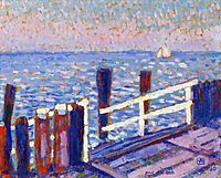 The Jetty, 1906, rysselberghe