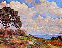 Large Tree near the Sea, 1919, rysselberghe