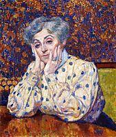 Madame Theo van Rysselberghe, 1907, rysselberghe