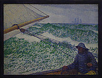 The Man at the Tiller, 1892, rysselberghe