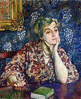 Maria van Rysselberghe in Jersey, 1907, rysselberghe