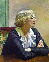 Maria Van Rysselberghe with Crossed Arms, 1913, rysselberghe