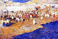 Maroccan Market, 1887, rysselberghe