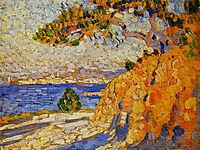 Midi Landscape, c.1910, rysselberghe
