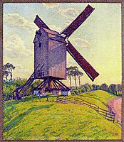 The Mill at Kelf, 1894, rysselberghe