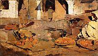 Moroccan Fruit Market, c.1883, rysselberghe