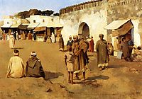 Moroccan Market, c.1883, rysselberghe