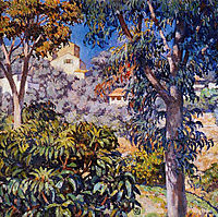 Noon Landscape, c.1921, rysselberghe