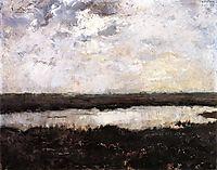 A Pond in Campine, 1884, rysselberghe