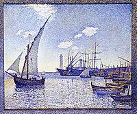 Port de Cette, rysselberghe