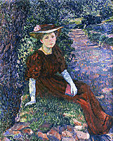 Portrait of Daisy Weber, 1907, rysselberghe