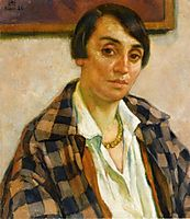 Portrait of Elizabeth van Rysselberghe, 1926, rysselberghe