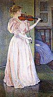 Portrait of Irma Sethe, 1894, rysselberghe