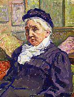 Portrait of Madame Monnon, 1908, rysselberghe