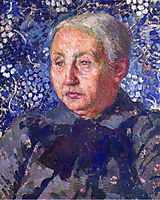 Portrait of Madame Monnon, the Artist s Mother in Law, 1900, rysselberghe
