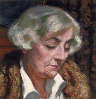 Portrait of Maria van Rysselberghe, rysselberghe