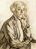 Portrait of Maria van Rysselberghe, 1919, rysselberghe