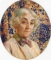 Portrait of Maria van Rysselberghe, 1926, rysselberghe