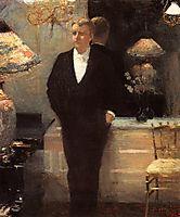 Portrait of Octave Maus, 1885, rysselberghe