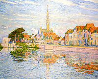 The Quay at Verre, Zeeland, 1906, rysselberghe