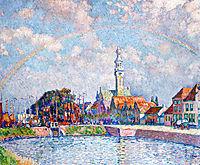 Rainbow over Veere, 1906, rysselberghe