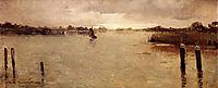 Spaarnwoude island, 1883, rysselberghe