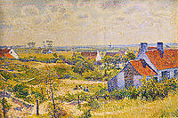 Summer Landscape of the Moor, rysselberghe