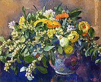 Vase of Flowers, 1923, rysselberghe