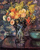 Vase of Flowers, c.1911, rysselberghe