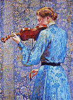 The Violinist, 1903, rysselberghe