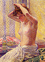 Woman at Her Toilette, 1905, rysselberghe