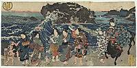 Women on the Shore at Enoshima, sadatora