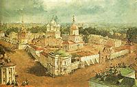 Bogojavlensky Anastadjin Monastery in Kostroma, 1865, sadovnikov