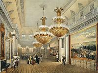 The Field Marshal-s Hall of the Winter Palace, 1852, sadovnikov