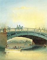 Kamennoostrovsky bridge, c.1830, sadovnikov