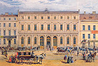 View of the Passazh department store in 1848, 1848, sadovnikov