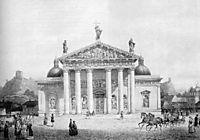 Vilnius Cathedral, Lithuania, 1854, sadovnikov