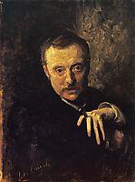 Antonio Mancini, 1902, sargent