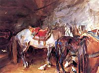 Arab Stable, 1905-1906, sargent
