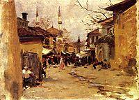Arab Street Scene, 1890, sargent