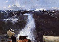 Atlantic Storm, 1876, sargent
