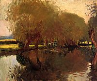 A Backwater at Calcot Near Reading, 1888, sargent