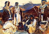 Bedouin Camp, 1905-1906, sargent