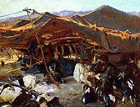Bedouin Encampment, 1906, sargent