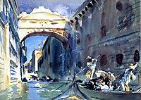 Bridge of Sighs, 1904, sargent