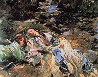 The Brook, 1907, sargent