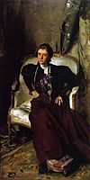 Mrs Charles Thursby, 1897-1898, sargent