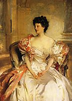 Cora, Countess of Strafford (Cora Smith), 1908, sargent