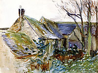 Cottage at Fairford, Gloucestershire, 1892, sargent
